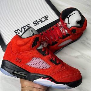 Jordan Retro 5 - Red Black White